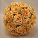 Gold Rose Diamante Butterfly Bouquet