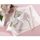 """L-O-V-E"" Chrome Letter Opener in Pillow Box Packaging"