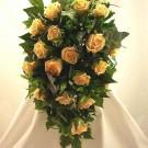 Gold Rose Diamante Shower Bouquet