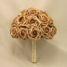 Mocha Open Rose Table Posy