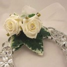 Ivory Rose Lucky Horseshoe