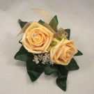 Gold Rose Lady's Corsage