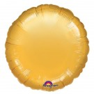 18'' Gold Round Foil Balloon