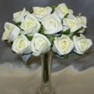12 Ivory Jubilee Rosebuds