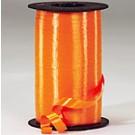 Orange Curling Ribbon 500 Metres