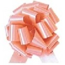 50mm Large Peach Pull Bows