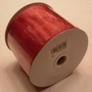 Pink Ribbon Wired Organza 75mm