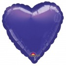 18'' Purple Heart Foil Balloon