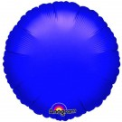 18'' Purple Round Foil Balloon