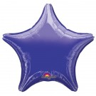 19'' Dark Blue Star Foil Balloon