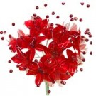Babies Breath - 12 Stems - Red