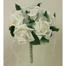 White Mixed Rose Children's Posy