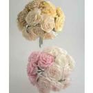 6 Luxury Wild Mocha Roses