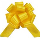 50mm Large Yellow Pull Bows