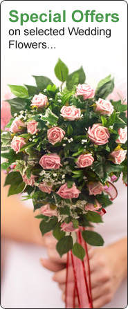 Special Offers on selected Wedding Flowers