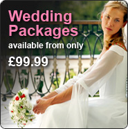 Wedding Packages available from only £99.99