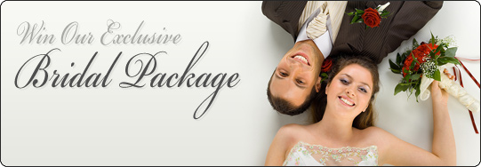 Win our exclusive Bridal Package...