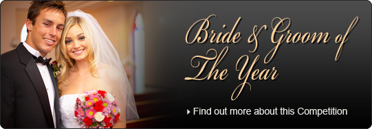 Win our Bride & Groom of the Year Competition...