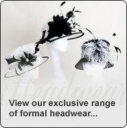 View our stunning range of Hats, Fascinators and Tiaras...